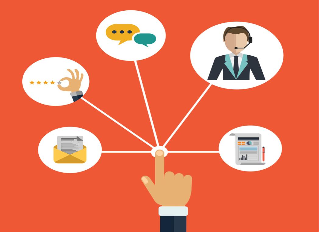 Illustration - consumer engagement concept